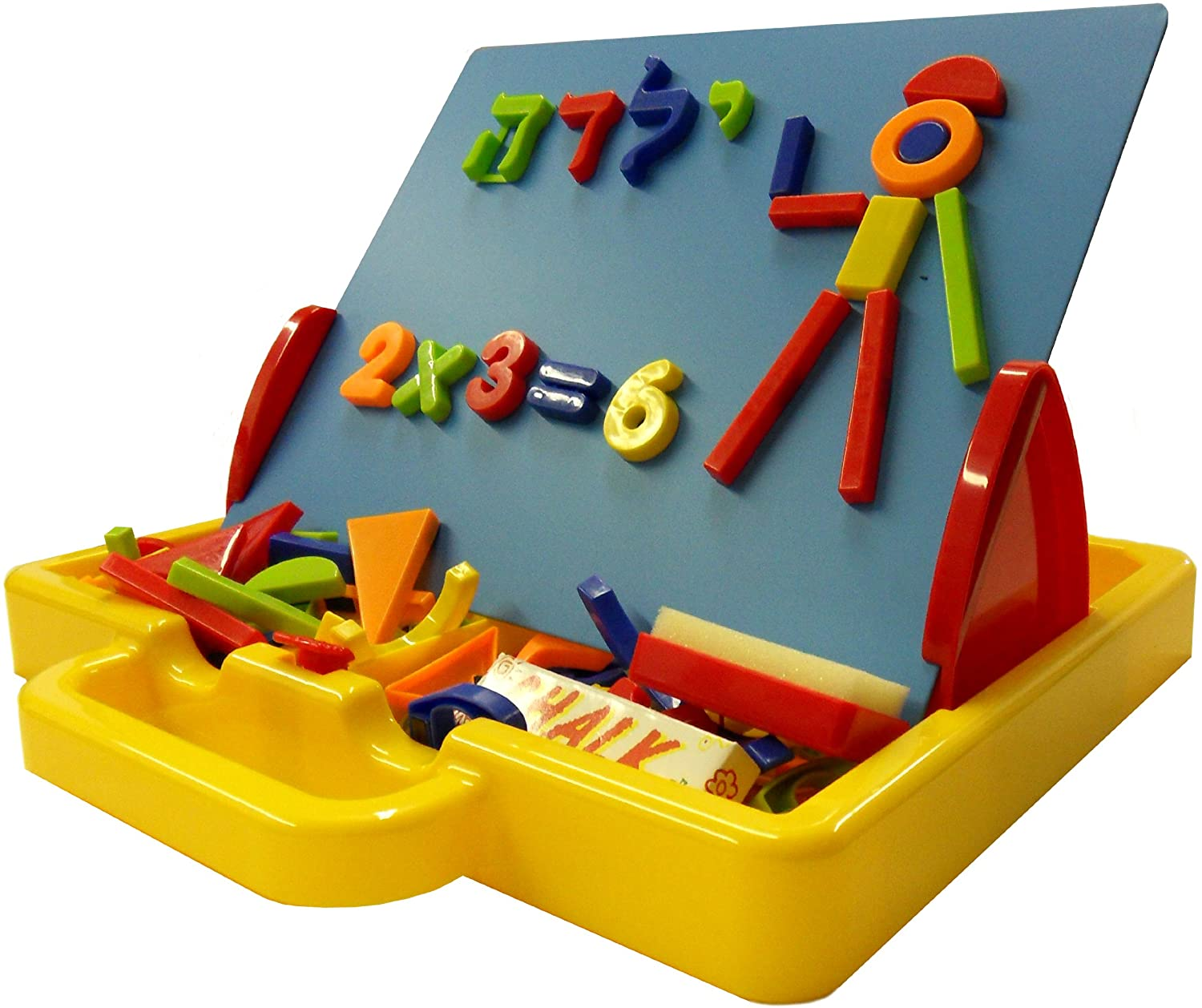 Hebrew Alef-Bet Magnetic Letters And Chalk Board -Affordable Gift for your Little One! Item #LMID-1251-H
