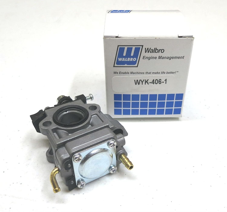 OEM Walbro WYK-345 / WYK-406 CARBURETOR Carb Echo A021001870 A021003940 PB-770 ,,#id(theropshop; TRYK72271449555924