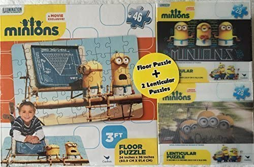 Minions 3 Ft Floor Puzzle Plus Two 9