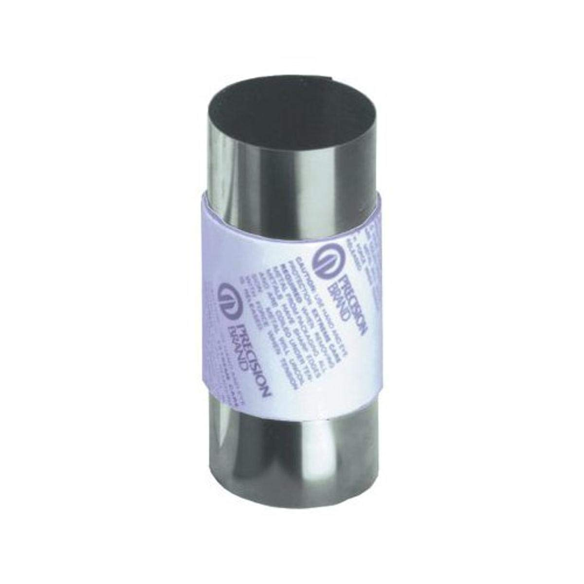 Precision Brand 039-22979 0.65 mm Steel Shim Stock 150 mm X 1.25M Roll, Full Hard, Cold Rolled, 302 Stainless Steel