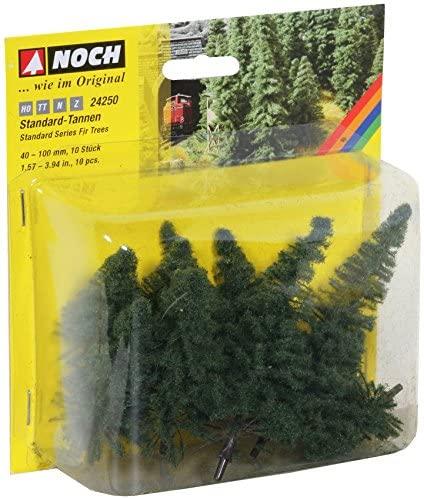 Noch 24250 Fir Trees 40-100Mm 10/ H0,Tt,N,Z Scale  Model Kit