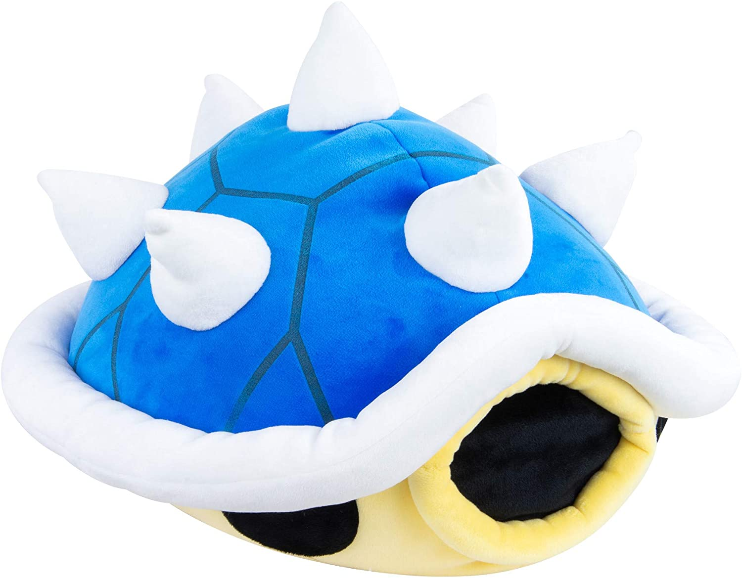 Club Mocchi Mocchi Nintendo Mario Kart Blue Shell Plush Stuffed Toy, Multicolor, Junior