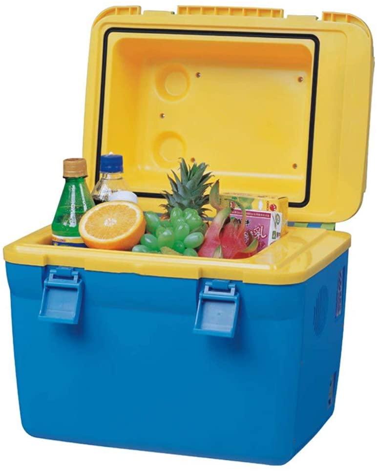 Car refrigerator Mini Fridge 18 Liter,Portable Compact Personal Fridge Cools & Heats, Portable Makeup Skincare Fridge,Hot and Cold Dual Control,Long-Lasting Insulation