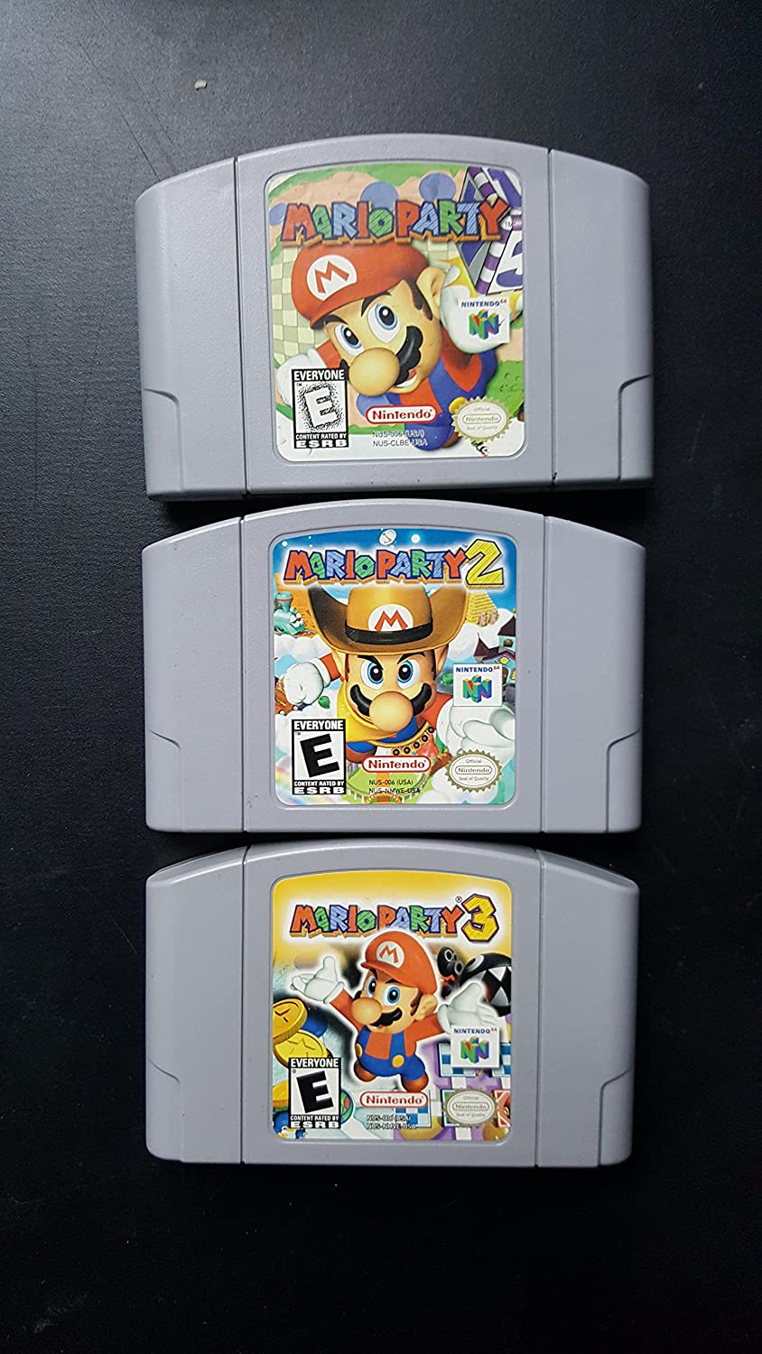 Complete Mario Party Nintendo 64 Collection: Mario Party 1, 2, and 3