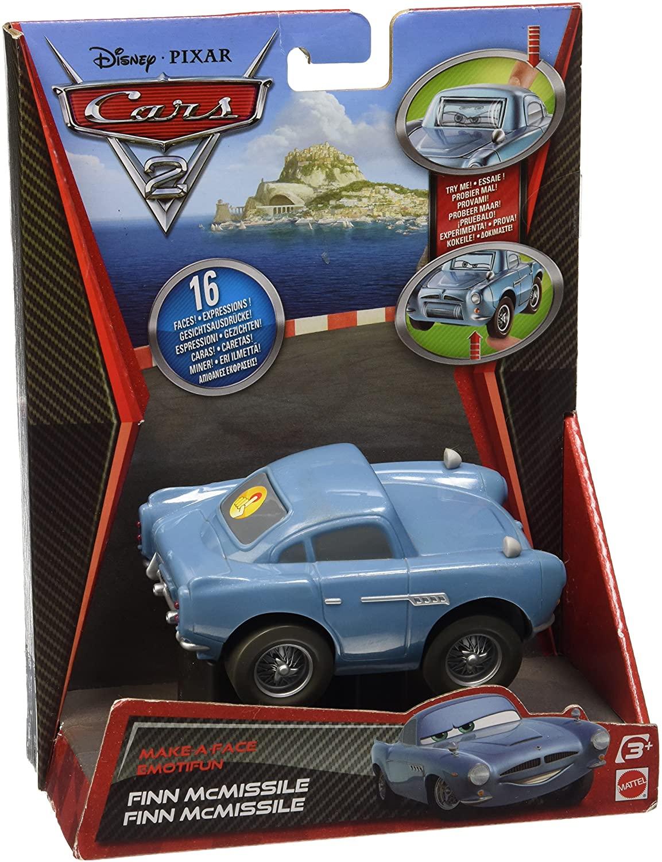 Cars 2 Makin' Faces Finn McMissile Vehicle