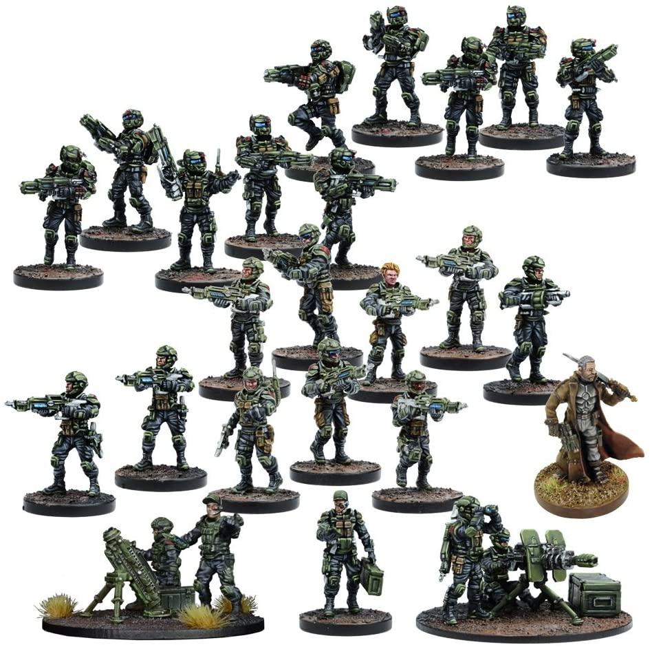 Mantic Games MGDZG101 GCPS Faction Starter Play Set