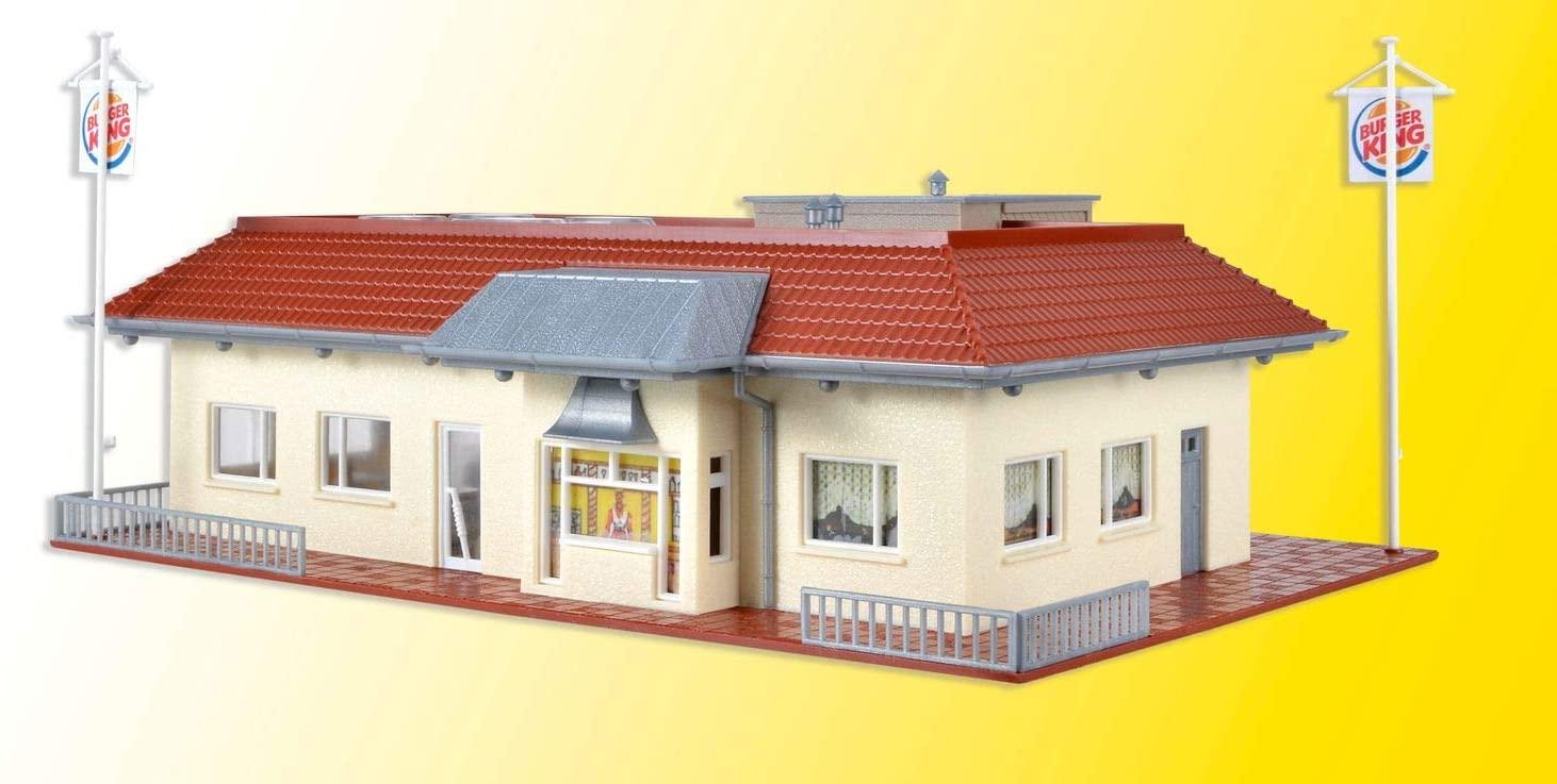 43632 Burger King HO Scale Model