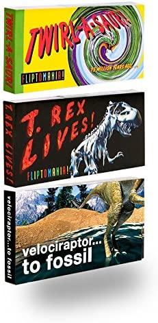 Fliptomania Dinosaur Animation Flipbooks 3 Pack