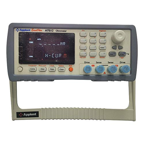 AT512 DC Resistance Meter with 0.1micro ohm-110M ohm Resistance Measurement Range and 0.01% Accuracy