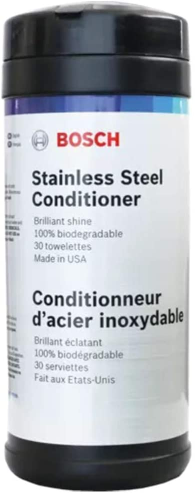 Bosch Stainless Steel Conditioner Wipes - 17002199