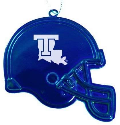 Louisiana Tech University - Christmas Holiday Football Helmet Ornament - Blue
