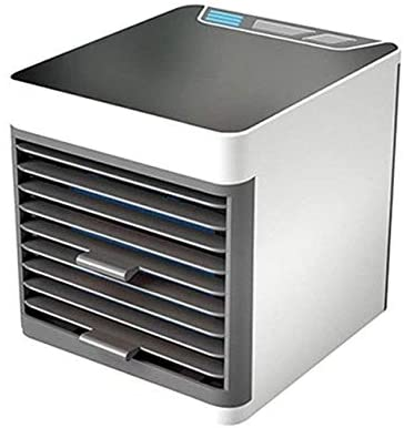 LOMAX Exquisite Mini Portable Air Conditioner, Mini Ultra-Quiet Personal Space Air Conditioner, USB Desktop Multifunctional Portable Air Conditioner for Bedroom Office Kitchen Travel Air Condit