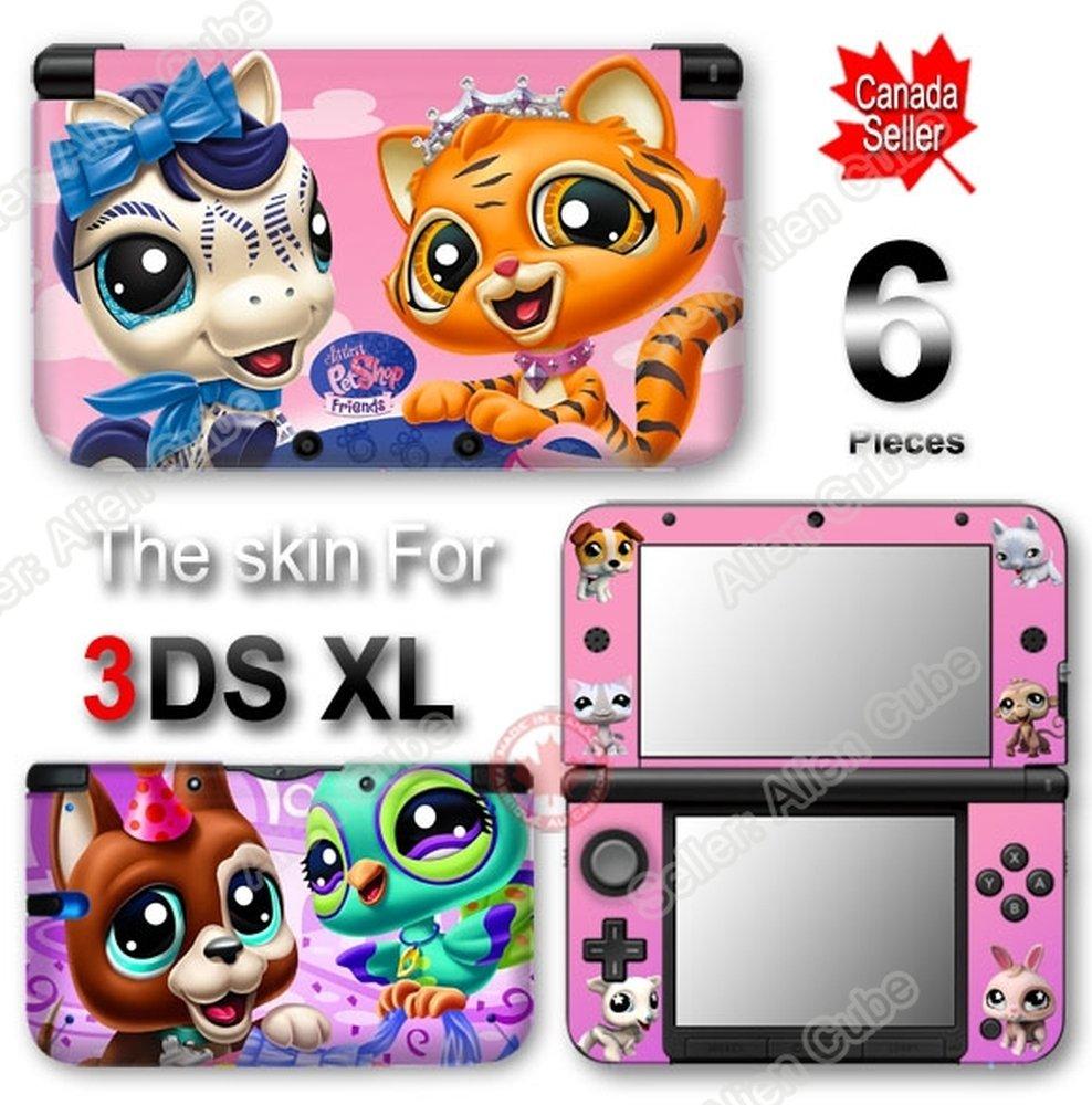 Littlest Pet Shop SKIN VINYL STICKER DECAL COVER #1 for Original Nintendo 3DS XL