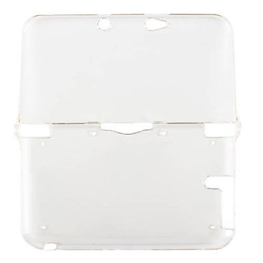 NEW-Protective Crystal Clear Case for 3DS XL/LL