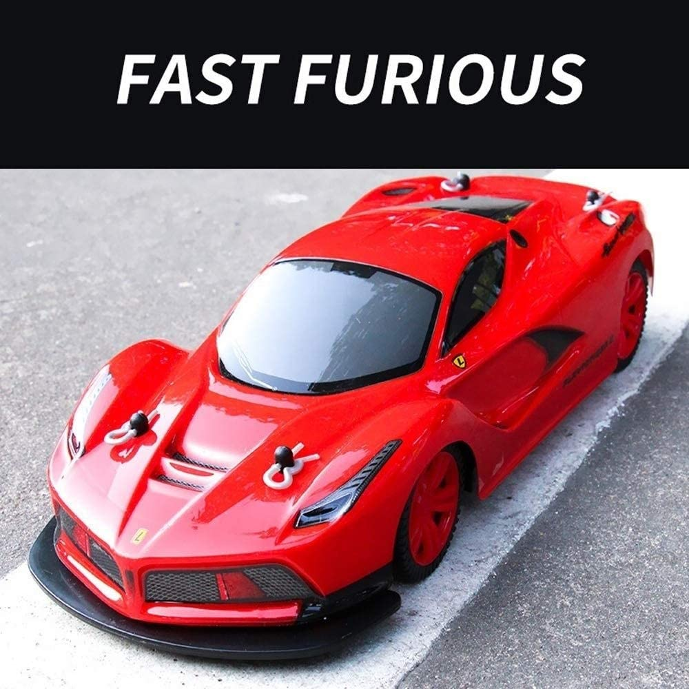 Xuess 2.4GHz 4x4 RTR Radio Remote Control Drift Racing All Terrain Off-Road Vehicle High Speed 1:10 Scale Electric RC Car Off Road Vehicle Educational Toys Gift