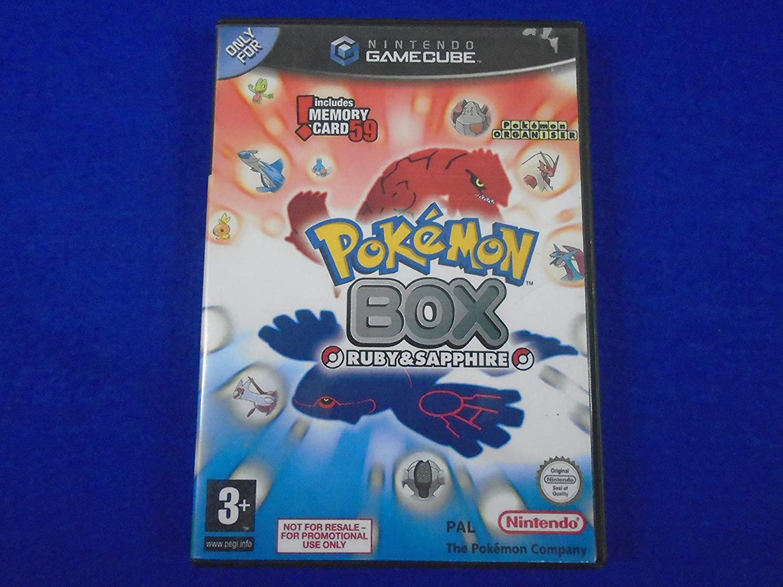 GameCube Pokemon Box - Ruby/Sapphire PAL VERSION