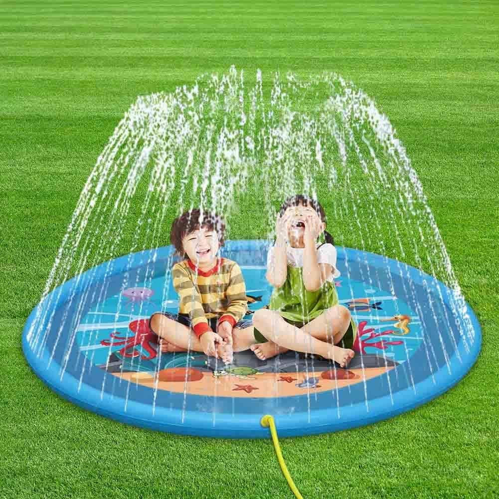 huaanlongus Sprinkler pad & Splash Play Mat 68