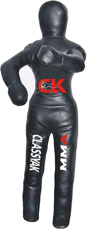 Classyak-MMA Martial Arts Grappling Dummy Standing Position Jiu Jitsu Punching Bag - Unfilled