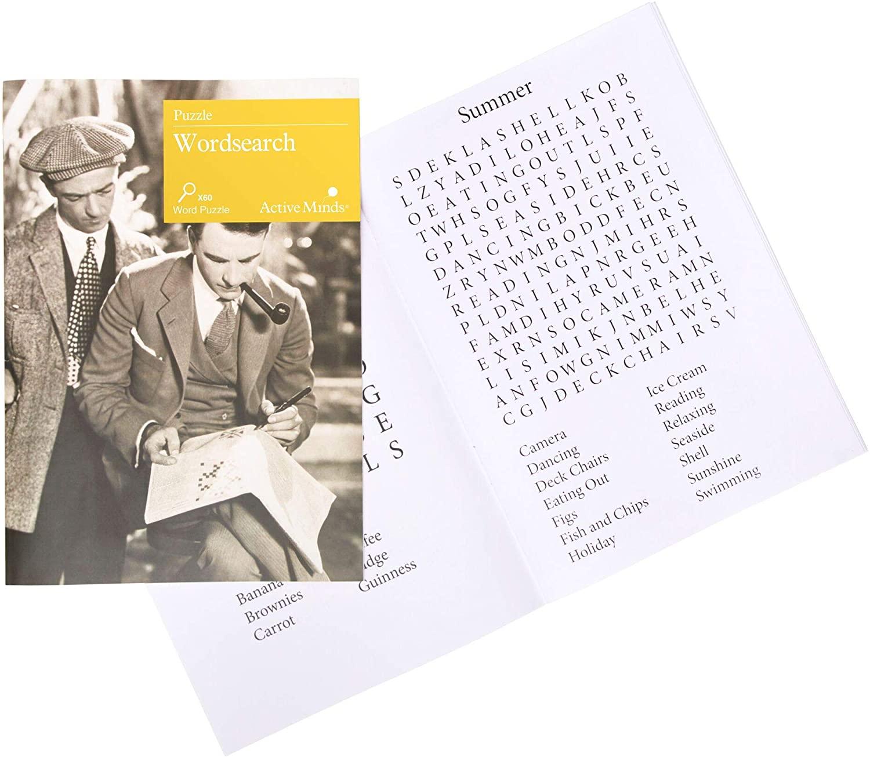 Word Search Level 1 & 2 | Specialist Alzheimer's/Dementia Activities & Games