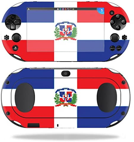 MightySkins Skin Compatible with Sony PS Vita (Wi-Fi 2nd Gen) wrap Cover Sticker Skins Dominican Flag