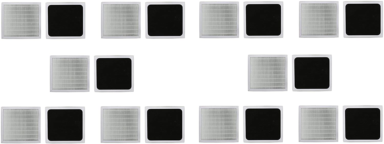 LifeSupplyUSA 10 Pack High Efficiency Replacement Air Purifier Filter Compatible with Kenmore 83244 & 85244 Part # 83159