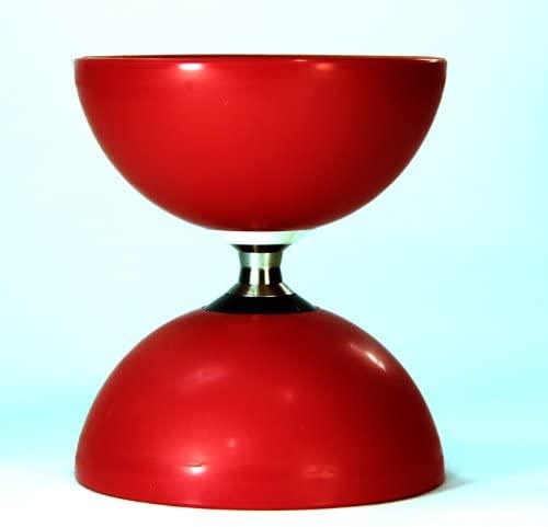Zeekio Tribus Triple Axle Diabolo - Red