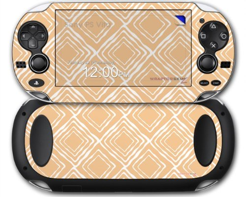Wavey Peach - Decal Style Skin fits Sony PS Vita