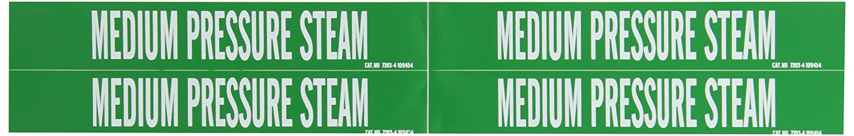 Brady 7393-4 Self-Sticking Vinyl Pipe Marker, B-946, 1 1/8