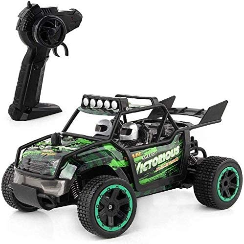Xuess RC Control Buggy 4WD Climbing Off-Road Vehicles Racing Rally Cars Spring Shock Absorber Children Gifts Kids Toy Educational Toys (Color : Green)