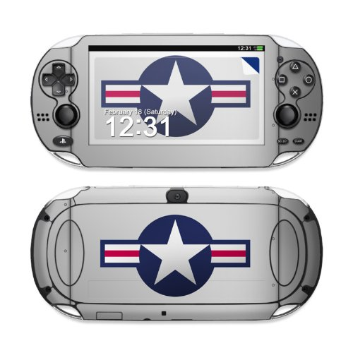 Wing Design Protective Decal Skin Sticker (High Gloss Coating) for Sony Playstation PS Vita Handheld