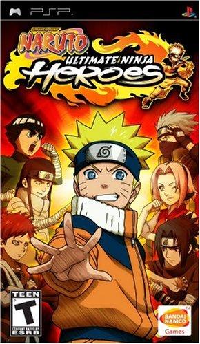 Naruto Ultimate Ninja Heroes - Sony PSP