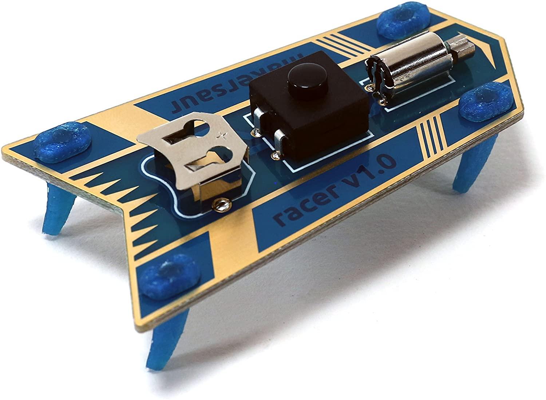 Learn to Solder Kit: Makersaur Racer