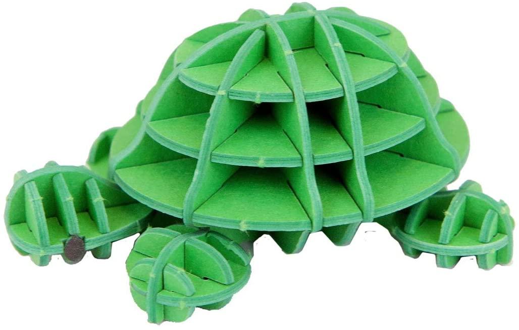 JIGZLE Turtle Dick Bruna Miffy Collection - 3D Paper Puzzle DIY Kit