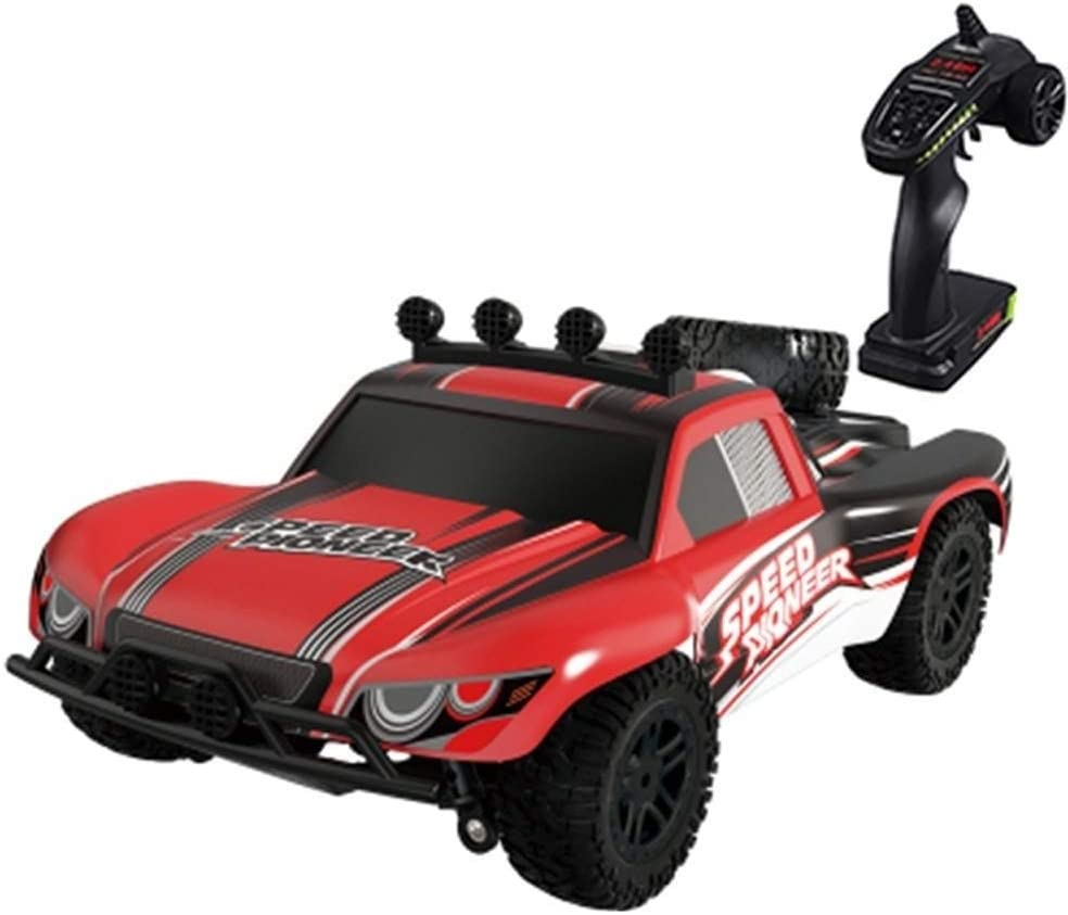 Xuess 2.4 GHz High Speed Race Car Radio Control Toys Car Professional Drift Electronic Sports Race Model 4WD Stunt Racing Vehicle Off Road Vehicle Toys Car Gift for Adults Kids Child (Color : Red)