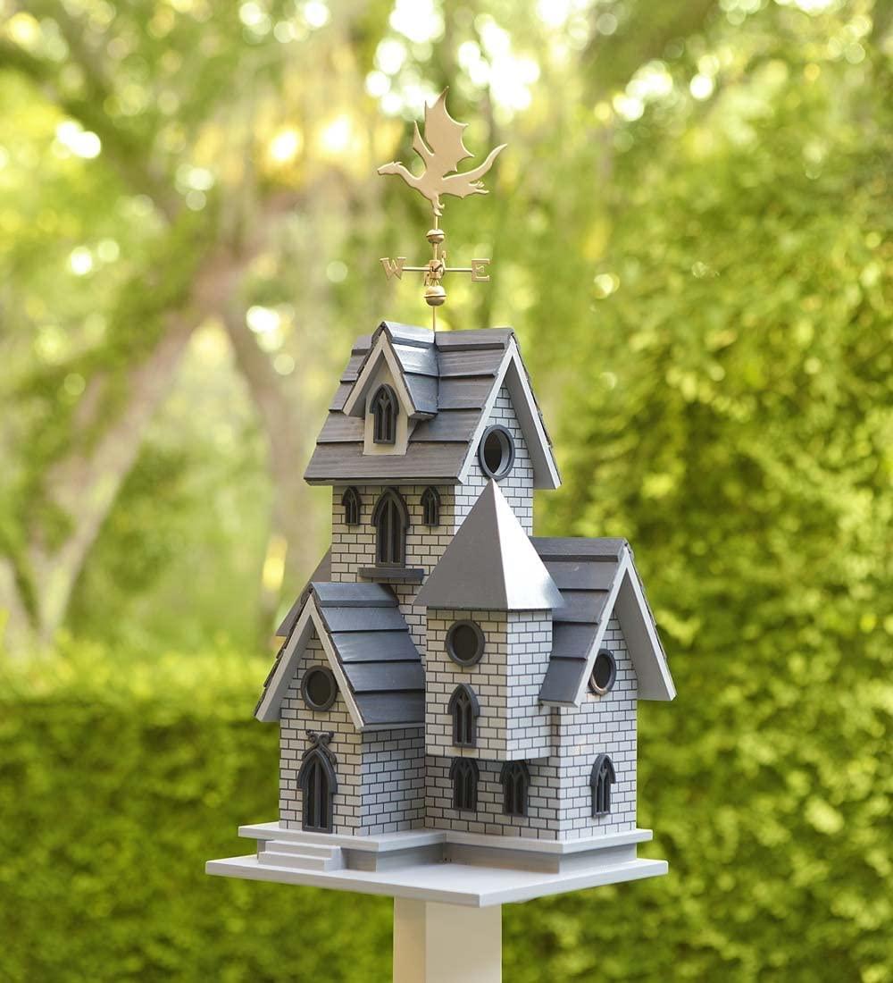 Dragon Weathervane Birdhouse