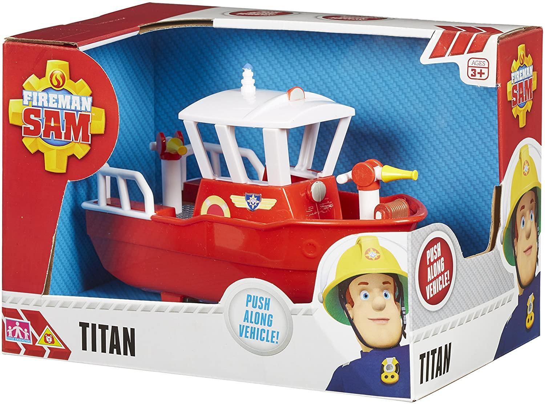 Character Options Fireman Sam Titan Vehicle