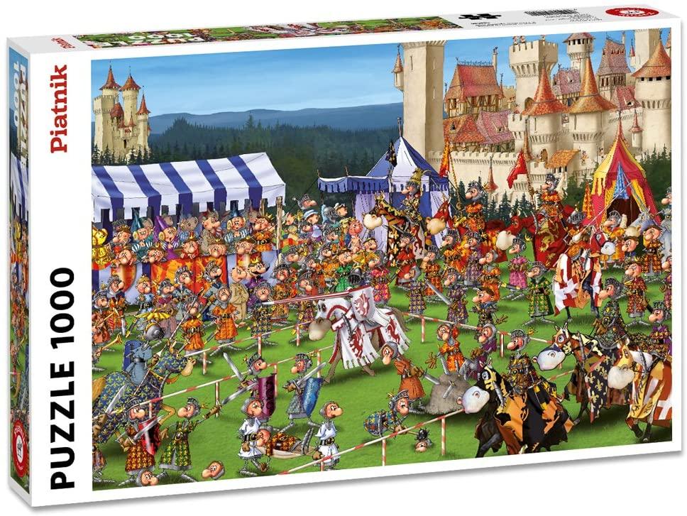 Piatnik 00 5440 Ruyer - Tournament of Knights Puzzle