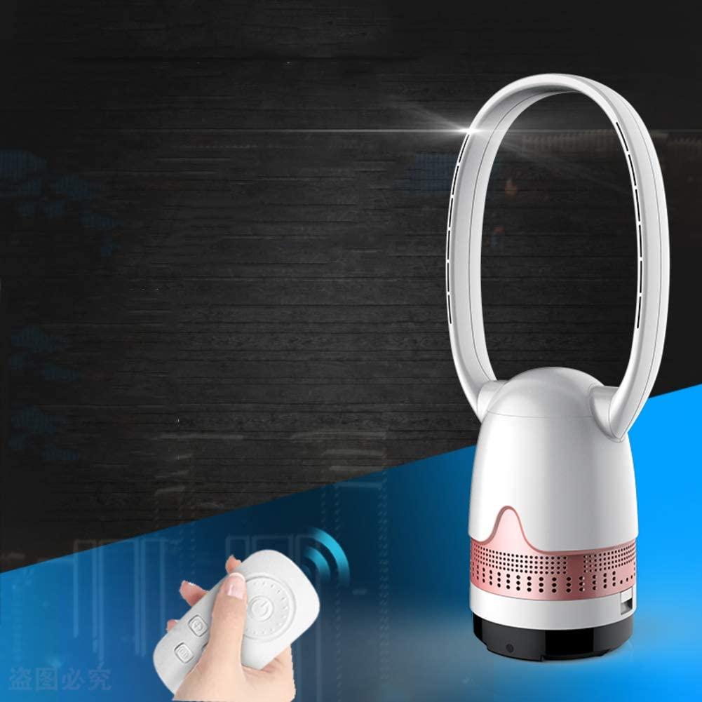 IMUGTT Ultra-Quiet Bladeless Fan, Oscillating Remote Control Tower Fan, Purifier Mute Air Cooler Floor Desk Air Conditioner Fan Home-c 73x22cm(29x9)