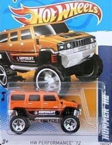 Hot Wheels 2012, Hummer H2, HW Performance '12, #150/247. 1:64 Scale.