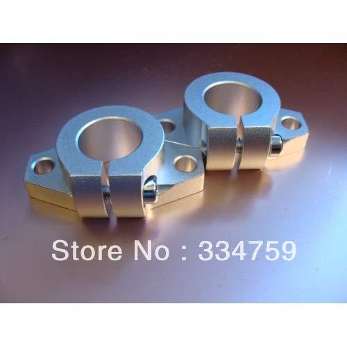 Ochoos 4pcs/lot SHF25 25mm Shaft Support Linear Rail Support CNC Router XYZ