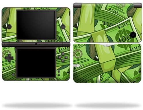 MightySkins Skin Compatible with Nintendo DSi XL wrap Sticker Skins Benjamins