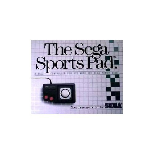 The Sega Sports Pad: A Ball Controller for Use with the Sega Master System Power Base