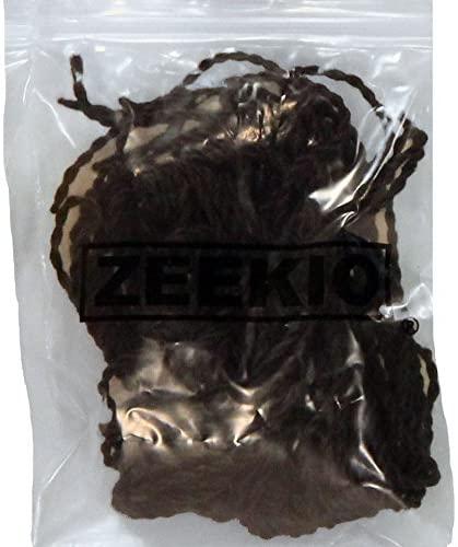 Zeekio Yo-Yo String - 100% Polyester - Type 9 Fat Strings - (1)-10 Pack (Black)