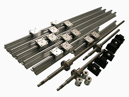 Joomen CNC SBR20 Support Rail RM2005 ballscrew 250/1500/1500mm Linear Motion Kit