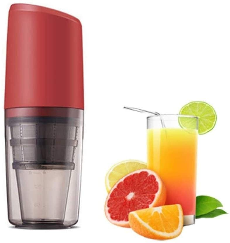 Multifunction Slow Juicer Masticating,Household USB Rechargeable,25W Fully Automatic Cold Press Juicer,180ML Portable Centrifugal Juicer Machine