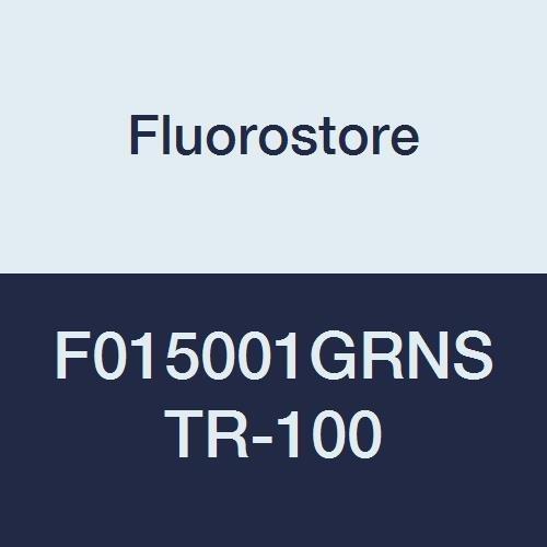 Fluorostore F015001GRNSTR-100 PTFE Striped Tubing, 3/16