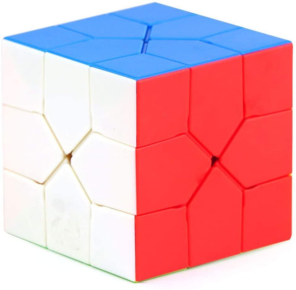CuberSpeed Moyu Redi Cube stickerless Moyu Oskar Redi Cube Color Puzzle