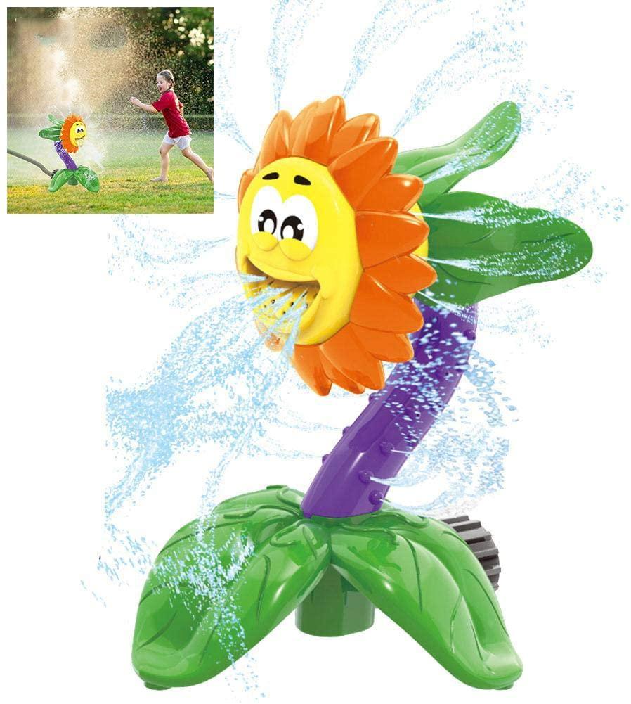 Best Sprinklers for Yard for Kids Laugh/Sunflower Splash Sprinkler Heads Rotating