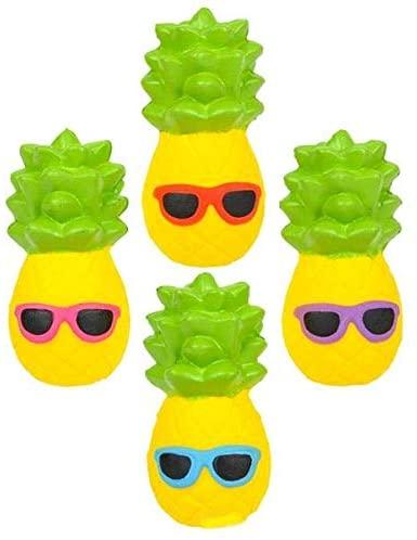 (4) Fun Cute Squishy Mini PINEAPPLE! Each 4