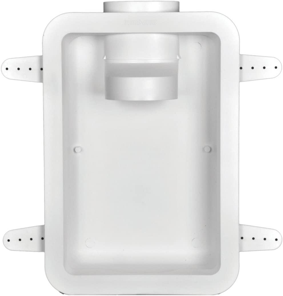 Dundas Jafine DRB4XZW Recessed Dryer Vent Box, 4, White